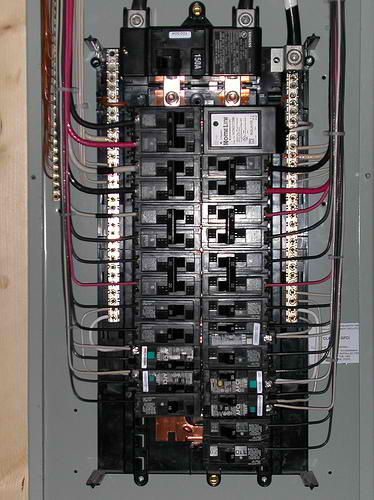 Electrical Service Panel